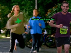 The one where Pheobe Runs