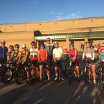 Bike rally in Granbury - 100 degrees!!